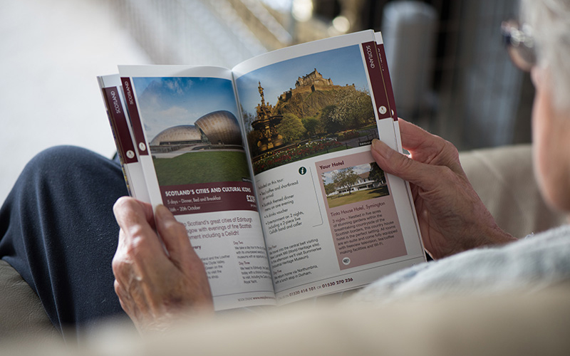 work Macpherson coaches tours brochure